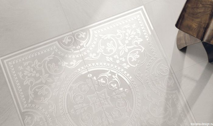 фриз fondovalle l bianco fascia cristall 10x60
