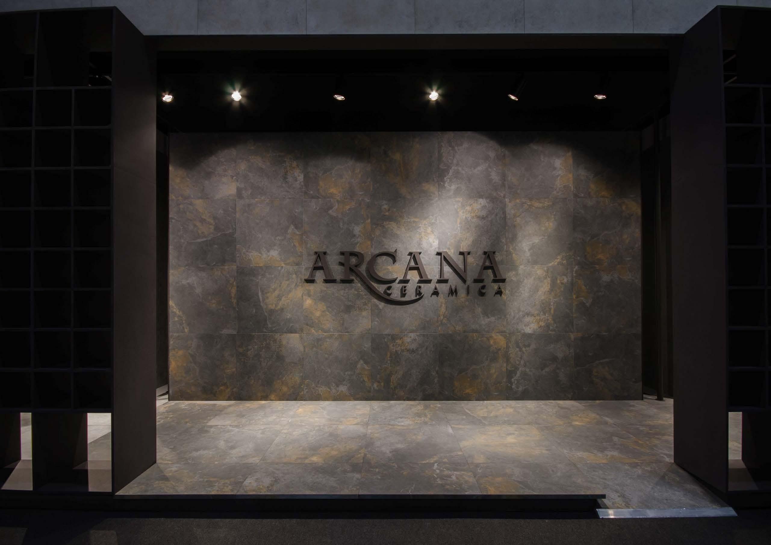 стенд фабрики ARCANA на выставке Cevisama